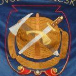 hasičska zastava Priekopa vysivka maria hustavova zastavy.com