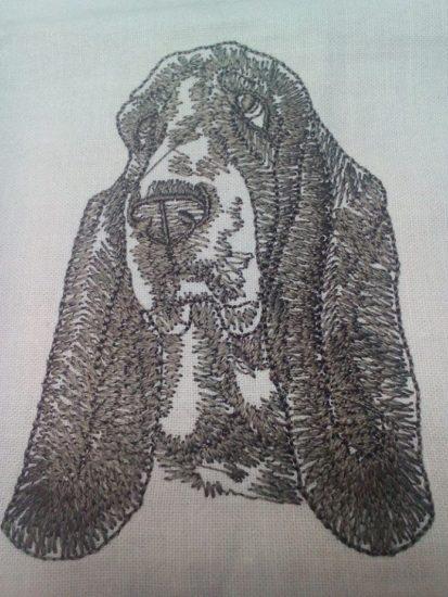 Beagle pes výšivka zastavy.com