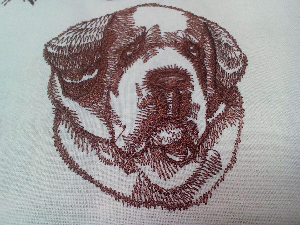 Bernardín zastavy.com pes vysivky