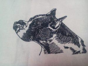 Boxer zastavy.com vysivka pes