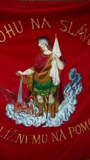 hasičská zastava sunava vysivka vysivanie zastava vlajka zastavy.com