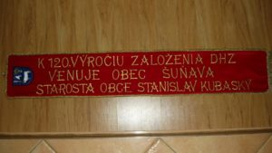 hasickska pamatna stuha zastavy.com maria hustavova