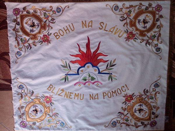 hasičska zastava turčianske klačany zastavy.com
