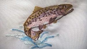Pstruh dúhový vysivka zastavy.com vysivane rybari