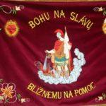 brvnište vlajka hasici svety benedikt zastavy.com