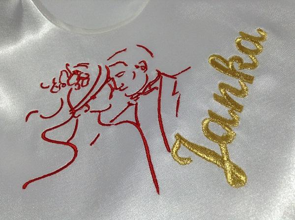mladomanželia podbradníky svadba vysivka zastavy.com vysivane