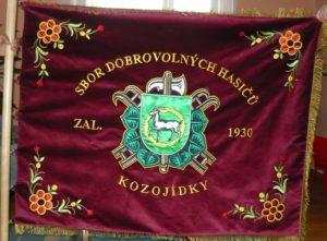 kozojídky vlajka zastavy.com hasiči