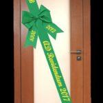maturitna stuha na dvere vysivana zelena vysivky zastavy.com maturita ukončenie skoly
