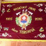 terchová vlajka zastavy.com hasiči slovensky znak