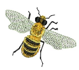 včela vyšivanie zastavy.com