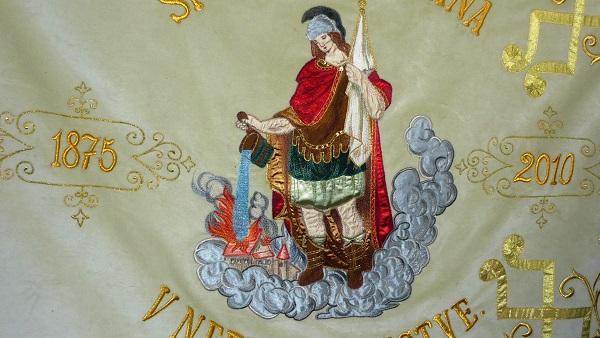 velka bytča vlajka zastavy.com hasiči sv. benedikt