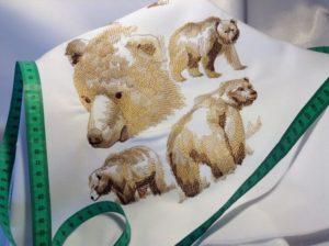 vyšivka zastavy.com medvede