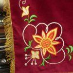 vysivka kvet vlajka hasici zastavy.com