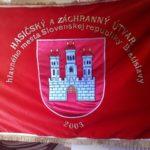 zastava hasici vlajka bordova bratislavsky hrad zastavy.com